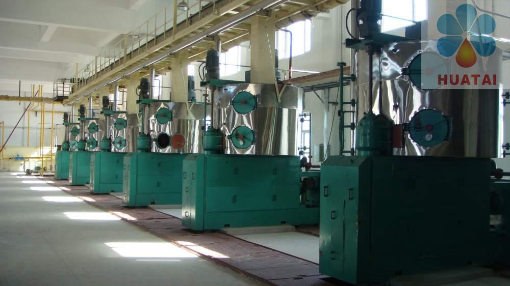 Линия производства для подсолнечного масла