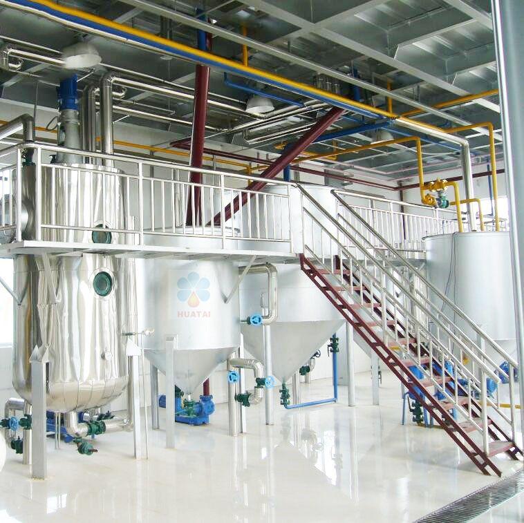 Оборудование для рафинирования подсолнечного масла