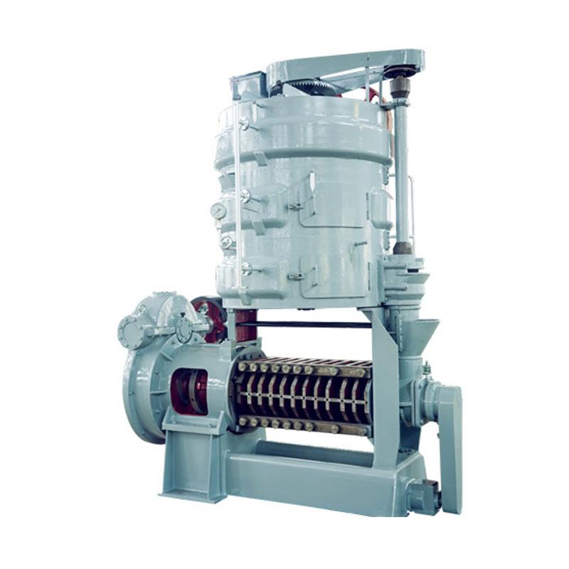 Машина для подготовки и прессования соевого масла